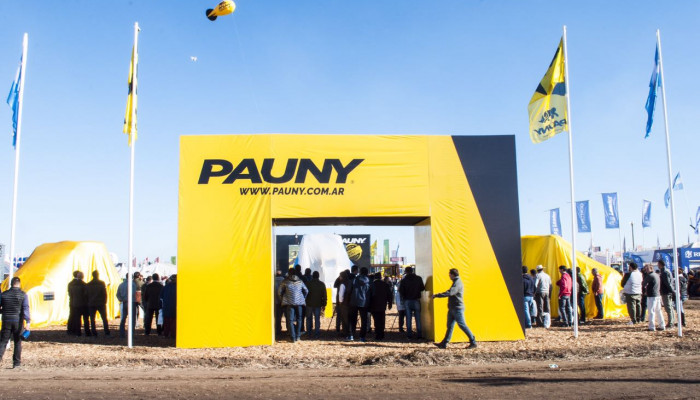 THE NEW PAUNY'S AUDAZ IS PRESENTED AT AGROACTIVA 2017